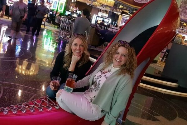 Big Red Shoe Found on Las Vegas Food Tour
